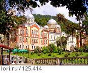 Купить «Новоафонский монастырь. Абхазия», фото № 125414, снято 14 декабря 2018 г. (c) Владимир Сергеев / Фотобанк Лори