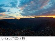Купить «Закат в Хибинах, Кольский полуостров», фото № 125718, снято 24 августа 2006 г. (c) Александр Максимов / Фотобанк Лори
