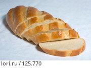 Купить «Белый хлеб в нарезке», фото № 125770, снято 20 октября 2007 г. (c) Петухов Геннадий / Фотобанк Лори