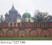 Купить «Стены кремля», фото № 127146, снято 13 октября 2007 г. (c) Смирнова Лидия / Фотобанк Лори