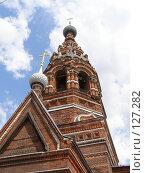 Купить «Церковь», фото № 127282, снято 3 июля 2007 г. (c) Юрий Борисенко / Фотобанк Лори
