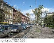 Улица Иркутска, начало октября (2007 год). Стоковое фото, фотограф Любовь Веселова / Фотобанк Лори
