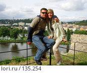 Купить «Парень и девушка», фото № 135254, снято 12 августа 2006 г. (c) Светлана Черненко / Фотобанк Лори