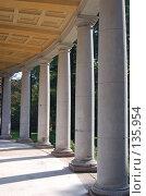 Купить «Колонны», фото № 135954, снято 22 сентября 2006 г. (c) Юлия Севастьянова / Фотобанк Лори