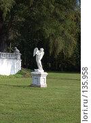 Купить «Статуя (Архангельское поместье)», фото № 135958, снято 22 сентября 2006 г. (c) Юлия Севастьянова / Фотобанк Лори