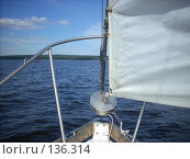 Купить «На яхте», фото № 136314, снято 5 августа 2007 г. (c) Сергей Тундра / Фотобанк Лори
