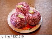 Купить «Стеклянные яблоки», фото № 137310, снято 4 декабря 2007 г. (c) Parmenov Pavel / Фотобанк Лори