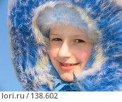 Купить «Зимний портрет девочки», фото № 138602, снято 19 февраля 2006 г. (c) Serg Zastavkin / Фотобанк Лори