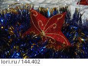 Купить «Новогодние украшения», фото № 144402, снято 10 декабря 2007 г. (c) Елена Бринюк / Фотобанк Лори