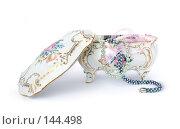 Купить «Фарфоровая шкатулка», фото № 144498, снято 27 ноября 2007 г. (c) Екатерина Дындыкина / Фотобанк Лори