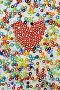 Красное бисерное сердце, фото № 144610, снято 23 декабря 2006 г. (c) Максим Горпенюк / Фотобанк Лори
