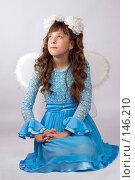 Купить «Девочка в платье с крыльями», фото № 146210, снято 9 ноября 2007 г. (c) Ольга Сапегина / Фотобанк Лори
