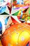 Разноцветные рождественские украшения, фото № 146938, снято 20 декабря 2006 г. (c) Александр Паррус / Фотобанк Лори