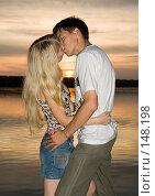 Купить «Поцелуй», фото № 148198, снято 31 августа 2007 г. (c) Насыров Руслан / Фотобанк Лори