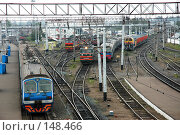 Купить «Ж/д вокзал г.Казань», фото № 148466, снято 2 сентября 2007 г. (c) Максим Яковлев / Фотобанк Лори
