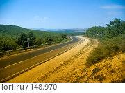Купить «Дорога, ведущая на равнину», фото № 148970, снято 9 августа 2007 г. (c) Петухов Геннадий / Фотобанк Лори