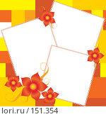 Красивая рамка с цветами. Стоковая иллюстрация, иллюстратор yelena demyanyuk / Фотобанк Лори