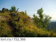 Купить «Горная тропа. Плато Лаго-Наки. Кавказский заповедник», фото № 152366, снято 10 августа 2007 г. (c) Петухов Геннадий / Фотобанк Лори