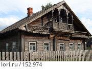 Купить «Северная изба», фото № 152974, снято 2 августа 2007 г. (c) Екатерина Соловьева / Фотобанк Лори