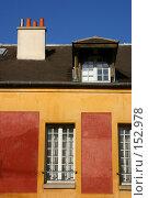 Купить «Дом в Париже, ярко освещенный весенним солнцем», фото № 152978, снято 1 марта 2006 г. (c) Harry / Фотобанк Лори
