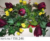 Купить «Букет  из искусственных цветов», фото № 156246, снято 29 июля 2006 г. (c) Галина  Горбунова / Фотобанк Лори