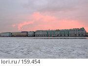 Зимний дворец на фоне зари (2007 год). Редакционное фото, фотограф Александр Щепин / Фотобанк Лори