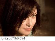 Купить «Взгляд девушки исподлобья», фото № 160694, снято 29 марта 2007 г. (c) chaoss / Фотобанк Лори