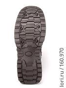 Купить «Резиновая подошва ботинка», фото № 160970, снято 26 ноября 2006 г. (c) Александр Паррус / Фотобанк Лори