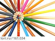 Купить «Набор карандашей на белом фоне», фото № 161034, снято 9 октября 2006 г. (c) Александр Паррус / Фотобанк Лори