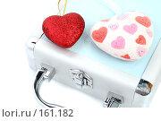 Купить «Стильный подарочный кейс с сердечками», фото № 161182, снято 25 июня 2007 г. (c) Александр Паррус / Фотобанк Лори