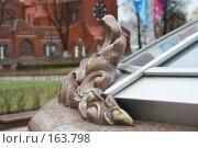Купить «Декоративный элемент из металла», эксклюзивное фото № 163798, снято 5 декабря 2007 г. (c) Natalia Nemtseva / Фотобанк Лори