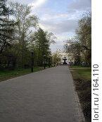 Купить «Омск. Мэрская аллея», фото № 164110, снято 13 мая 2006 г. (c) Derinat / Фотобанк Лори