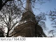 Эйфелева башня (2007 год). Стоковое фото, фотограф Вадим / Фотобанк Лори