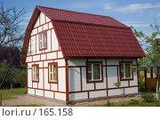 Купить «Сельский домик», фото № 165158, снято 4 июня 2007 г. (c) Сергей Байков / Фотобанк Лори