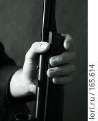 Купить «Ружье в руке», фото № 165614, снято 24 декабря 2006 г. (c) Морозова Татьяна / Фотобанк Лори