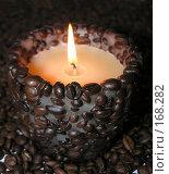 Купить «Парафиновая свеча с ароматом кофе», фото № 168282, снято 20 декабря 2007 г. (c) Сергей Самсонов / Фотобанк Лори
