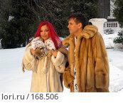 Купить «Ольга Орлова и Андрей Губин», фото № 168506, снято 11 марта 2003 г. (c) Сергей Лаврентьев / Фотобанк Лори