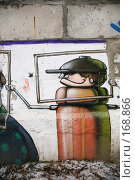 Купить «Граффити...», фото № 168866, снято 3 января 2008 г. (c) Игорь Веснинов / Фотобанк Лори