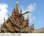 Купить «Крыша храма.Таиланд», фото № 169138, снято 1 апреля 2007 г. (c) Колчева Ольга / Фотобанк Лори