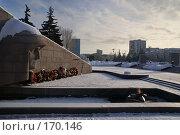 Купить «Памятник. Самара», фото № 170146, снято 8 января 2008 г. (c) Николай Федорин / Фотобанк Лори
