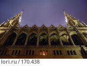 Купить «Венгрия, Будапешт, ночной парламент», фото № 170438, снято 16 августа 2018 г. (c) Максим Проценко / Фотобанк Лори