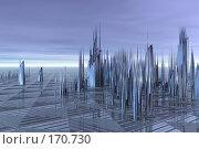 Купить «Инопланетный пейзаж», иллюстрация № 170730 (c) ElenArt / Фотобанк Лори