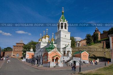 Купить «Церковь Иоанна Предтечи в Нижнем Новгороде», фото № 171682, снято 12 июня 2007 г. (c) Igor Lijashkov / Фотобанк Лори
