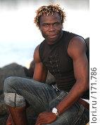 Купить «Портрет молодого мужчины», фото № 171786, снято 29 октября 2007 г. (c) Морозова Татьяна / Фотобанк Лори