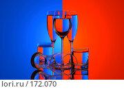 Купить «Красное и синее», фото № 172070, снято 13 января 2007 г. (c) Григорий Сухарев / Фотобанк Лори