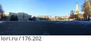 Купить «Ярославль. Панорама.», фото № 176202, снято 23 октября 2018 г. (c) Сергей Лисов / Фотобанк Лори