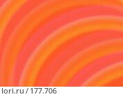Купить «Абстрактный фон с  оранжевыми полукругами», иллюстрация № 177706 (c) Лукиянова Наталья / Фотобанк Лори