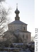 Купить «Суздаль. Козьмодемьянская церковь», фото № 179122, снято 6 января 2008 г. (c) Бондаренко Сергей / Фотобанк Лори
