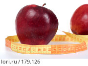 Купить «Красные яблоки», фото № 179126, снято 29 ноября 2007 г. (c) Ольга С. / Фотобанк Лори