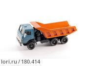 Купить «Коллекционная масштабная модель грузового автомобиля Камаз», фото № 180414, снято 17 января 2008 г. (c) Денис Дряшкин / Фотобанк Лори
